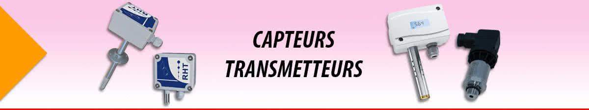 Capteurs Transmetteurs