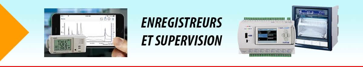 Enregistreurs et Supervision