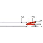 Cable de liaison PT100 PVC/PVC longueur Ø2,8mm 3 conducteurs vendu au mètre