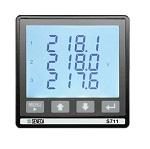 S711E6MODAO Analyseur triphasé montage sur panneau ModBUS + sortie analogique