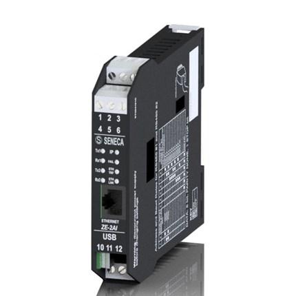 Interface 2 entrées analogiques / Modbus RTU TCP-IP