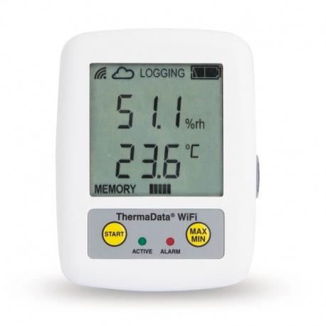 Enregistreur hygrométrie et température Thermadata WiFi HTD