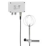 Transmetteur de vitesse d'air à fil chaud 0-10V et 4-20mA HD103T.0