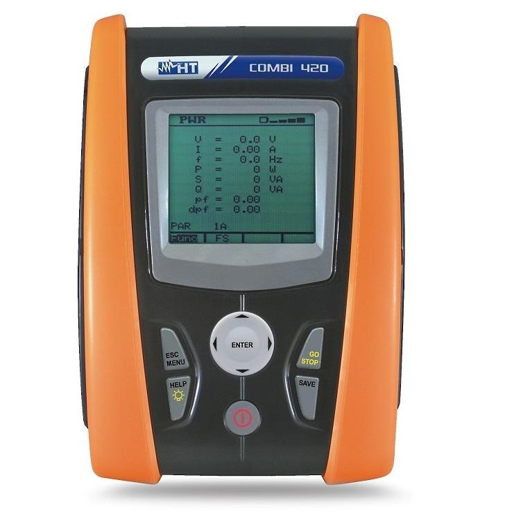 Instrument multifonctions analyseur de réseau COMBI420K