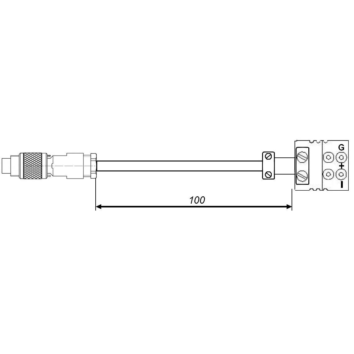Adaptateur connecteur Pt100 vers thermomètre de précision