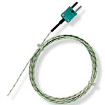 Sonde thermocouple K à point chaud apparent