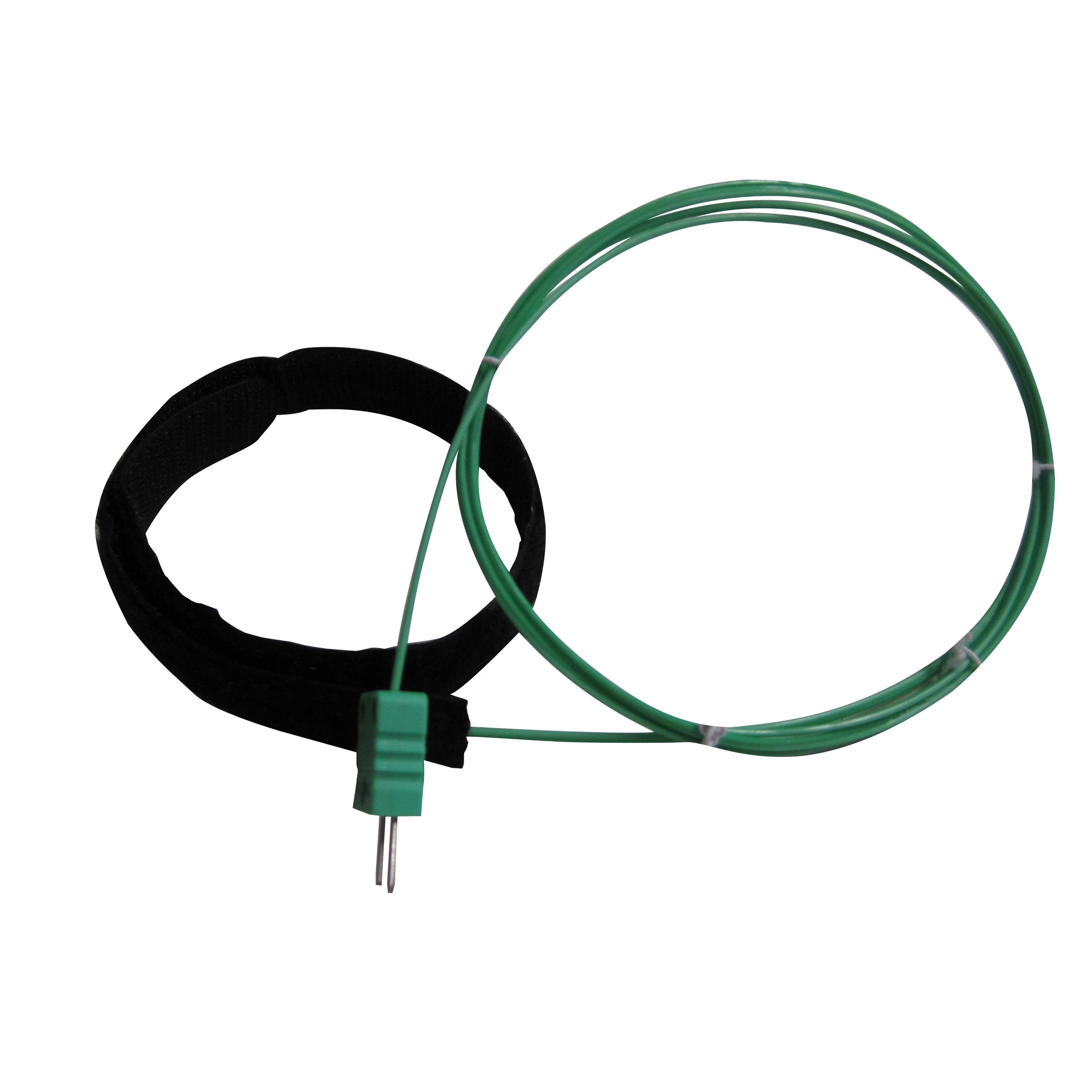 Thermocouple K de surface pour tuyauterie montage radial