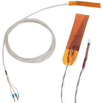 Sonde PT100 de contact souple à coller