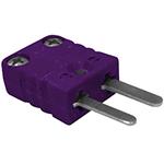 Connecteur thermocouple miniature mâle couple E