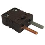 Connecteur thermocouple miniature male couple T