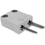 Connecteur thermocouple miniature mâle couple U