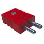 Connecteur thermocouple standard mâle couple C