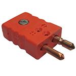 Connecteur thermocouple standard male couple R/S