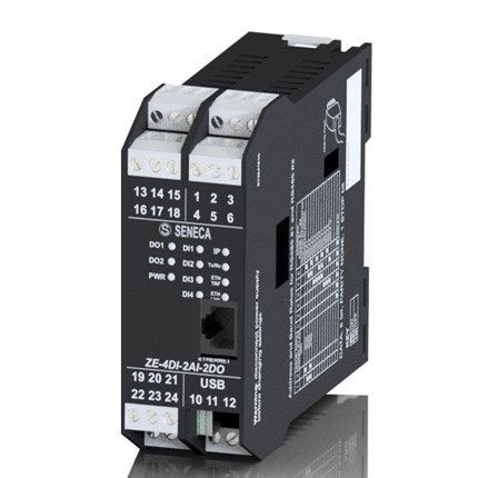Interface digitale analogique Modbus RTU TCP-IP