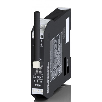 Modem radio 869Mhz RS232/RS485 Z-LINK1-LO 1000 mètres