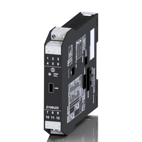 Convertisseur Tension Courant Continu 0-10V ou 4-20mA Z109UI2
