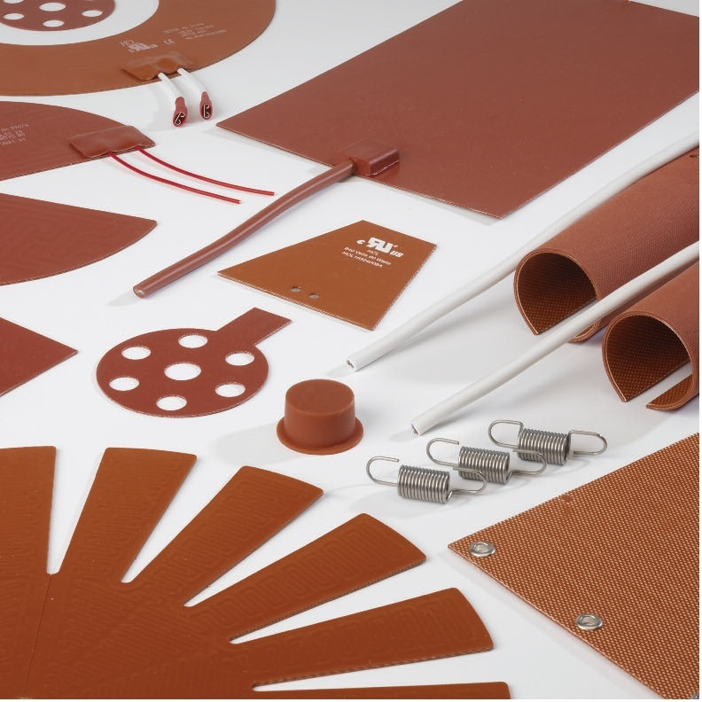 Panneaux chauffants silicone