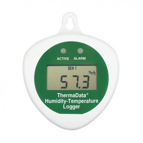 Enregistreur hygrométrie et température Thermadata HTD