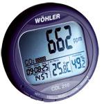 Enregistreur Indicateur CO2 température humidité CDL210