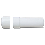 Protection anti-choc caoutchouc blanc BOOT-WHT