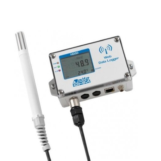 Web Data Logger Série HD50 Wifi et Ethernet